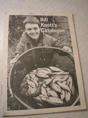 Una Distinta Scarse Knot Pubblicità Pesca Catalogo Aggiornata Ma Circa Primi Anni' 80-