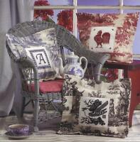 Birds Of A Feather Cross Stitch Toile Pillows Designs And Alphabet Chart