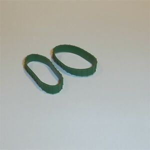 Matchbox Lesney  8 /& 18 Caterpillar Bulldozer C//D Long Green Tracks Treads