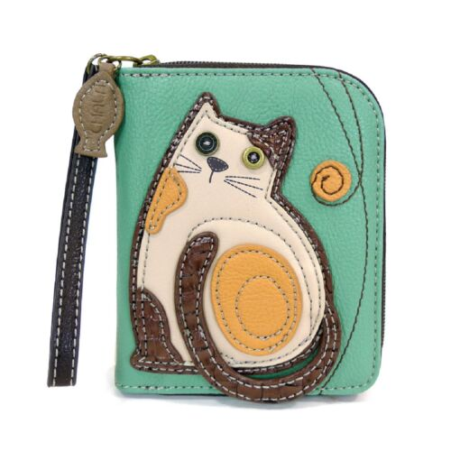 Dog and Cat -Wallets Raccoon Chala Handbag Animal Zipper Wallet Sea turtle