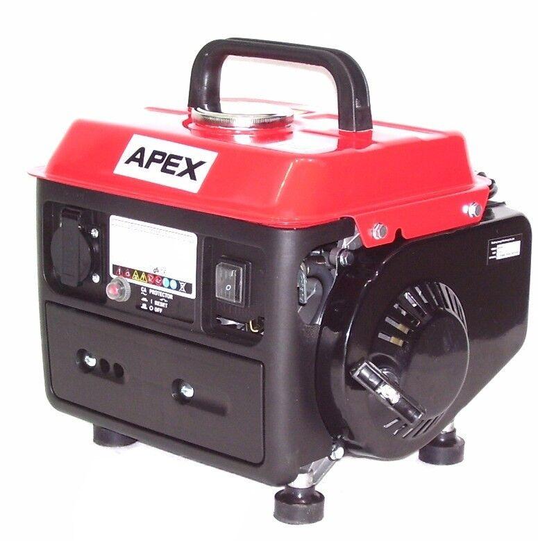 06260 Benzin Stromerzeuger 950W Stromaggregat Generator Notstromagregat Neu