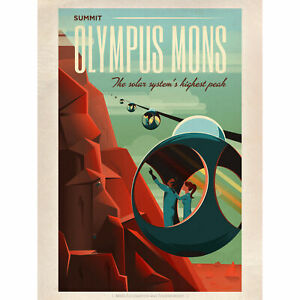Space-X-Travel-Advert-Olympus-Mons-Large-Wall-Art-Print-18X24-In