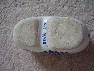 Zapato de Delft Azul y Blanco de la Porcelana-Adorno