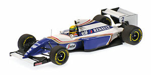 Williams-Renault-FW16-Ayrton-Senna-Pacific-GP-1994-1-43-Model-MINICHAMPS