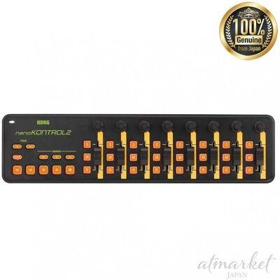 Hospitable Korg Usb Midi Controller Nanokntrl2-orgr Nano Kontrol 2 Orange & Grün Japan Pro Audio Equipment Audio/midi Interfaces