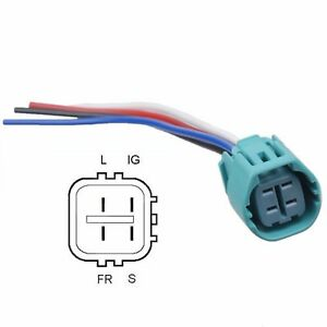 4 wire denso alternator wiring alternator plug splice in 4 wire replacement harness ...