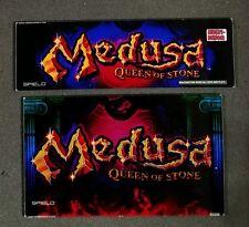 Spielo Aura Slot Machine Set of Glass for MEDUSA QUEEN OF STONE