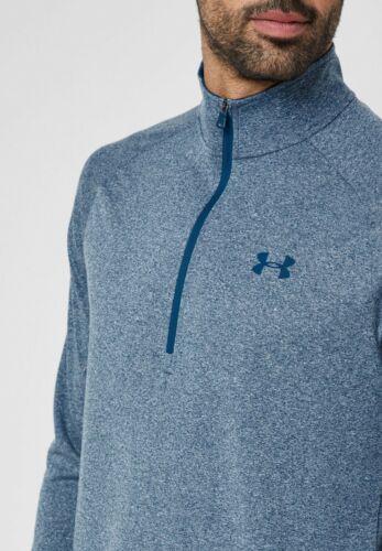 Under Armour Mens UA Tech 1//2 Zip Long Sleeve New Mens 1328495 437 Academy Blue
