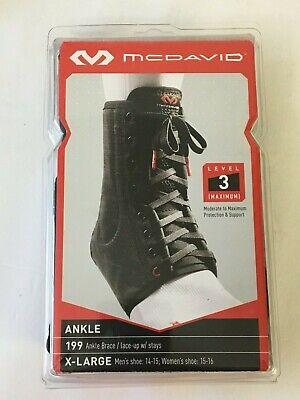 McDavid Level 3 Ankle Brace Lace-Up with Stays Item# 199