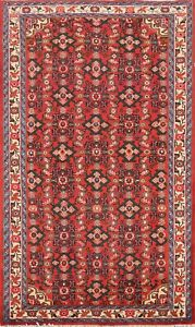 Geometric Traditional Hand-knotted Area Rug Tribal Wool Oriental Carpet 3x5 RED