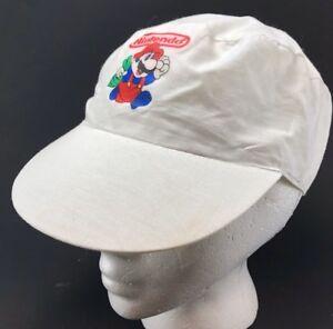 93340431ff9 Vtg Nintendo Hat Hostess Scratch 3 Contest Prize Cap Mario Bros ...