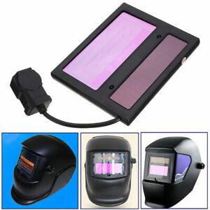 WS-1000-Solar-Auto-Darkening-Welding-Helmet-Lens-Automatic-110-90-10mm-Black-New