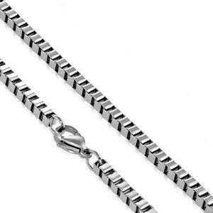 Halskette Edelstahl Silberfarben Venezinaer Länge 45 Cm 46 Cm 50 Cm 61 Cm Damen Hohe Belastbarkeit