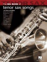 Big Book Of Tenor Sax Songs Instrumental Folio Book 000842210
