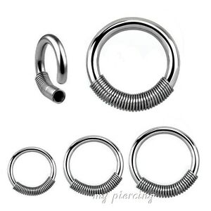 2pcs-Surgical-Steel-Captive-Ring-with-Wire-Spring-Closure-Hoop-Earring-Septum