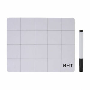 Screw-Mat-Repair-Magnetic-Pad-Pen-Organized-Silicon-Whiteboard-25-20cm-Durable