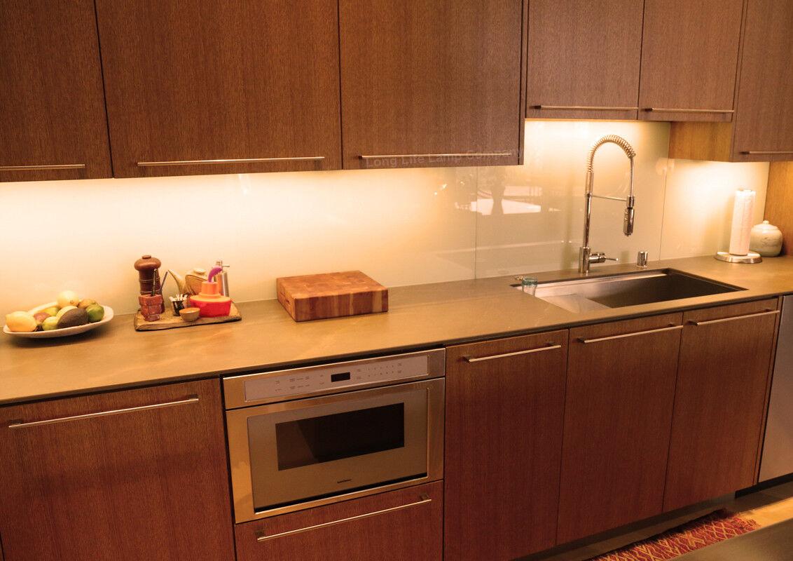 6 X Led Under Cabinet Light Kitchen Cupboard Striplights
