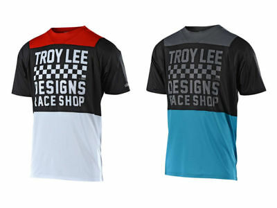 2018 Troy Lee Designs TLD Mens Skyline Checker Jersey Mountain Bike Cycle