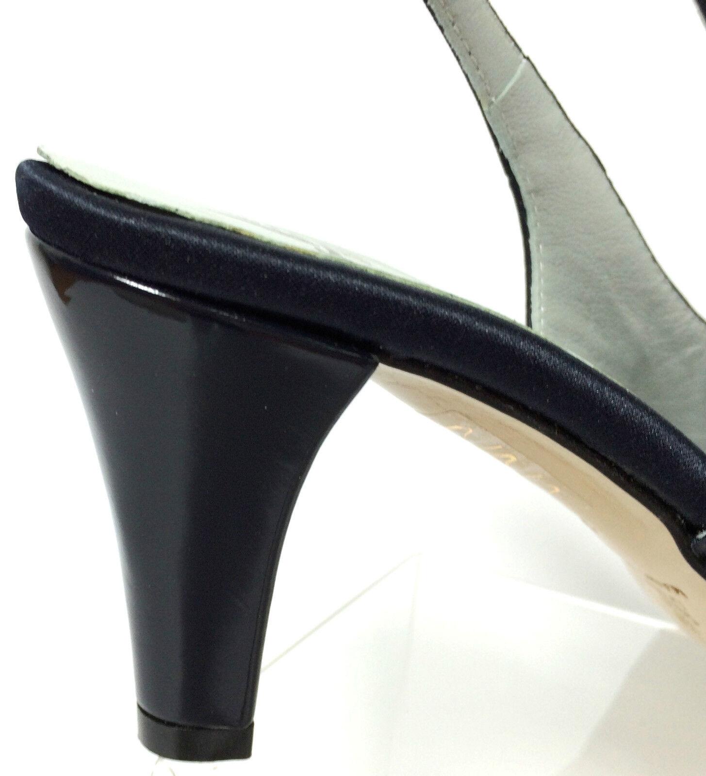 SOFFICE SOGNO SCARPE SCARPE SCARPE COMODE DONNA SANDALI RASO IN SETA ColoreeeE BLU TACCO H 7 CM | Un'apparenza Elegante  a2757b