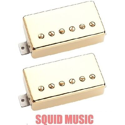 Seymour Duncan Hot Rodded Pickup Set JB Bridge /& Jazz Neck Nickel Covers