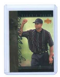 2001 upper deck tiger's tales #TT25 TIGER WOODS rookie card