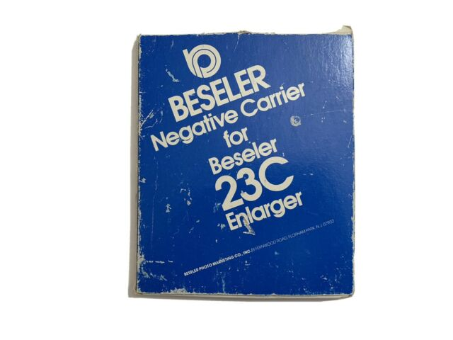 Beseler 6 x 7cm Negative Carrier for the 23C Series Enlargers.