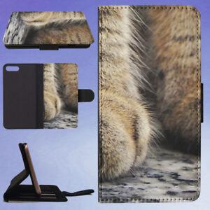 ANIMAL-BLUR-FOCUS-CAT-PAWS-FLIP-WALLET-CASE-FOR-APPLE-IPHONE-PHONES