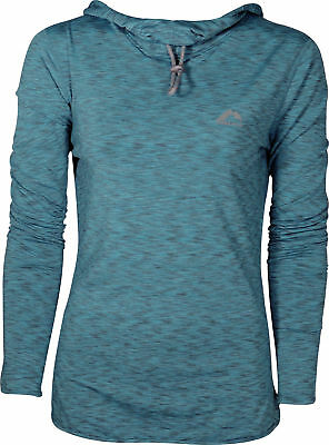 More Mile Rad Warm Womens Running Hoody - Blue