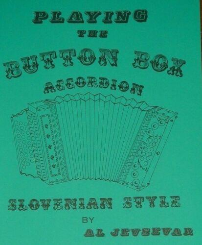 Learn Slovenian Button Box Accordion Sheet Music Song Instruction Book # 1
