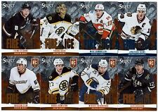 48 different 2013-14 Panini Select Hockey Fire on Ice Stars + Rookies Card Lot