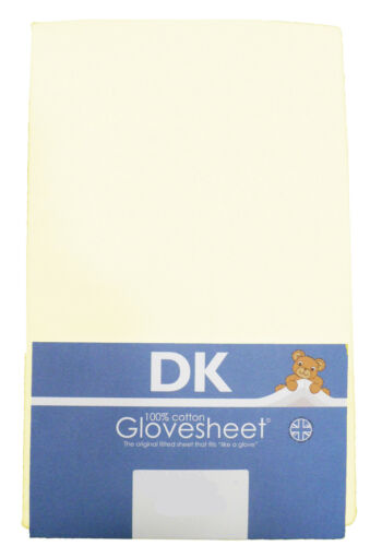 Super Soft Jersey Cotton TOP QUALITY DK Fitted Swinging Crib Sheets 84x36cm