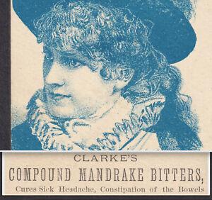 Clarkes-Compound-Mandrake-Bitters-ME-Elixir-Patent-Medicine-Victorian-Trade-Card