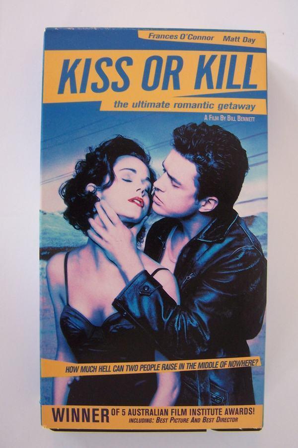Kiss Or Kill VHS Video Tape Australian Thriller