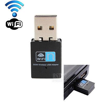 300Mbps Mini Wireless USB Wi-fi Wlan Adapter 802.11 b/g/n 300M Wifi Dongle