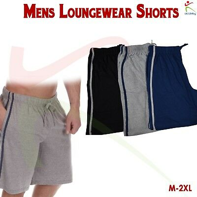 CASUAL MEN/'S FULL ATHLETIC CUT LIGHTWEIGHT SHORTS S-2XL 100/% COTTON JERSEY