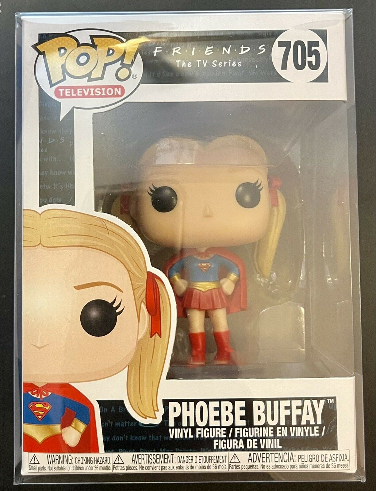Funko Pop! Television Friends Phoebe Buffay #705 Vinyl Figure With Protector