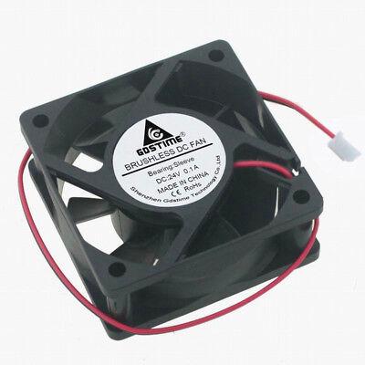48V 0.1A 120x120x25mm 3500RPM Duan Ball PC Case Fan 2pin DC Cooling Fan