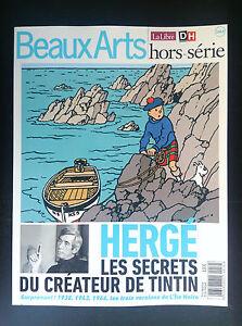 Revue-Hors-serie-BEAUX-ARTS-special-Tintin-Herge-2016-ETAT-NEUF