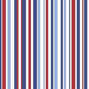 Image Is Loading Arthouse Super Stripe Blue Wallpaper Red White Stripy