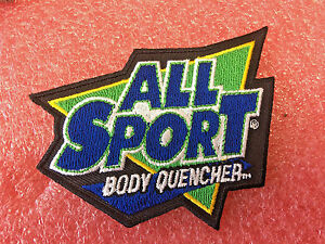 FT1-All-Sport-Thirst-Quencher-sport-Drink-Iron-on-or-sew-on-patch-4-034-L-x-3-034-H