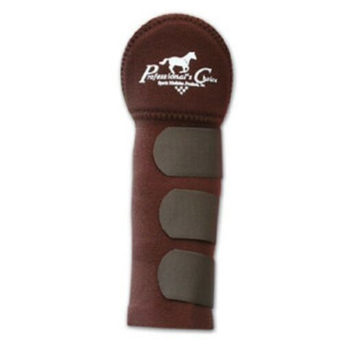 Professionals Choice Tail Wrap Sac Chocolat show Horse Tack