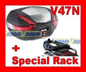 YAMAHA-FJR-1300-2006-2013-MALETA-BAULETTO-V47N-CUBIERTA-ALUMINIO-MARCO-SR357
