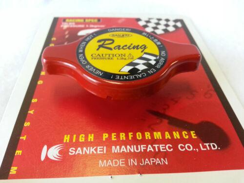 18lbs Made in Japan SANKEI Racing Red Radiator Cap 1.3 Bar Small
