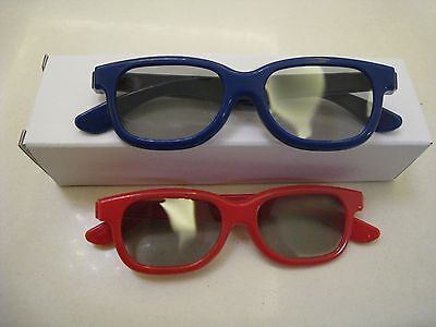 New Two Pairs Kids New 3D Glass For LG Passive polarized 3D TV and Blu-ray DVD