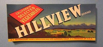 Wholesale Lot of 25 Old Vintage HEFTY Vegetable LABELS Elephant Salinas CA.