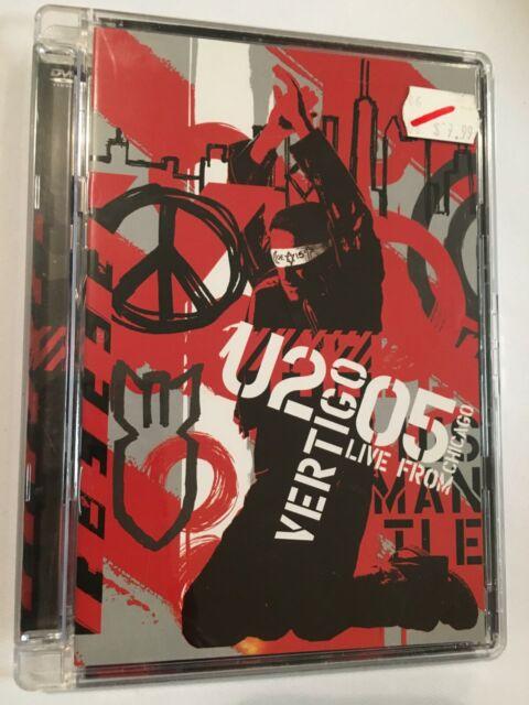 VERTIGO 2005 - U2 LIVE FROM CHICAGO - DVD - R4 - VGC - FREE POST