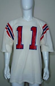 f7710303515 Team Game Issued NFL New England Patriots Vintage 80's Jersey Tony ...