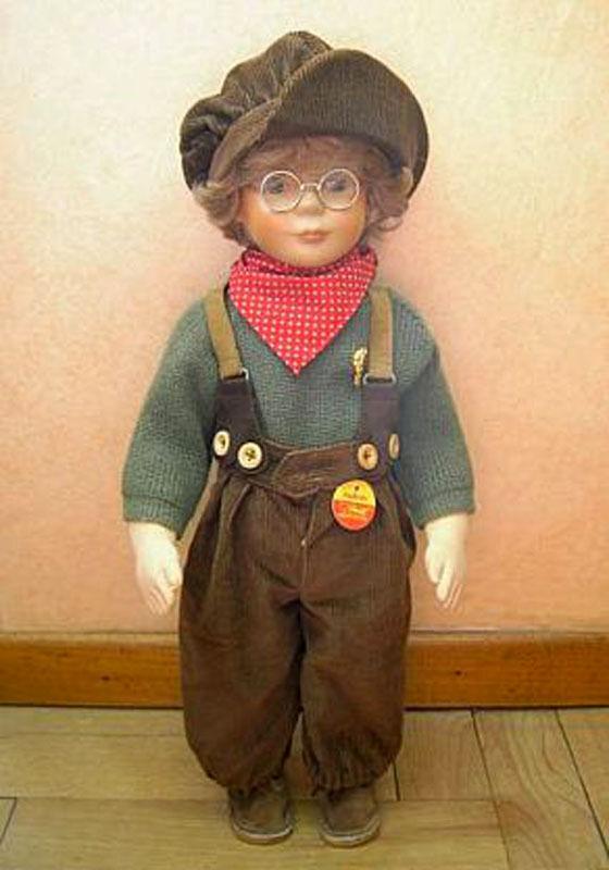 Steiff Puppe  Andreas   9250 50 , ein hübscher Junge