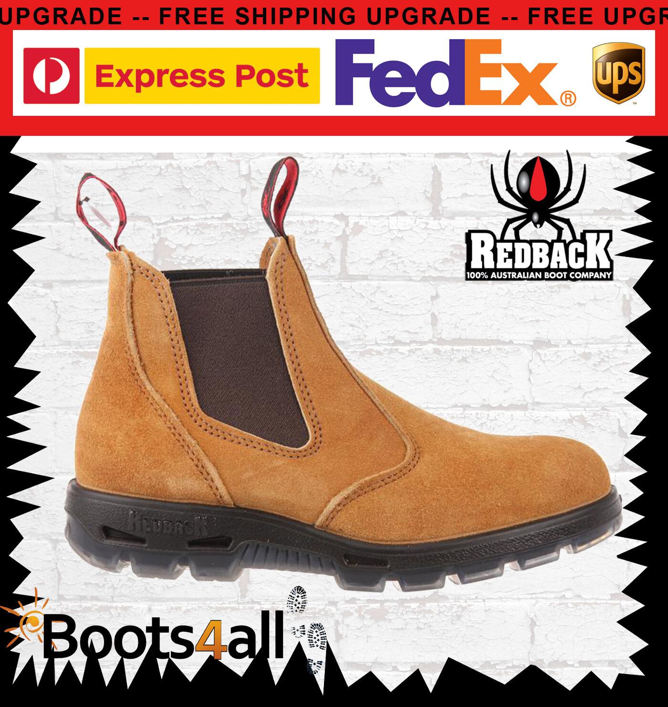 Redback Boots UBBA Ragnarsson Banana Australien echte Suede Bobcat