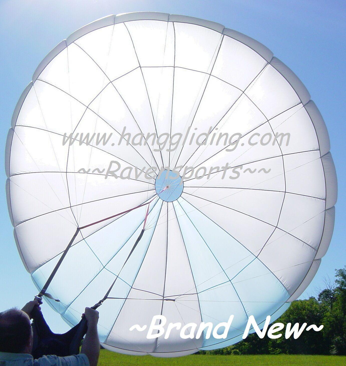 Reserve Parachute Quantum 440 Paraglider Paragliding 2Pair Risers Split Risers